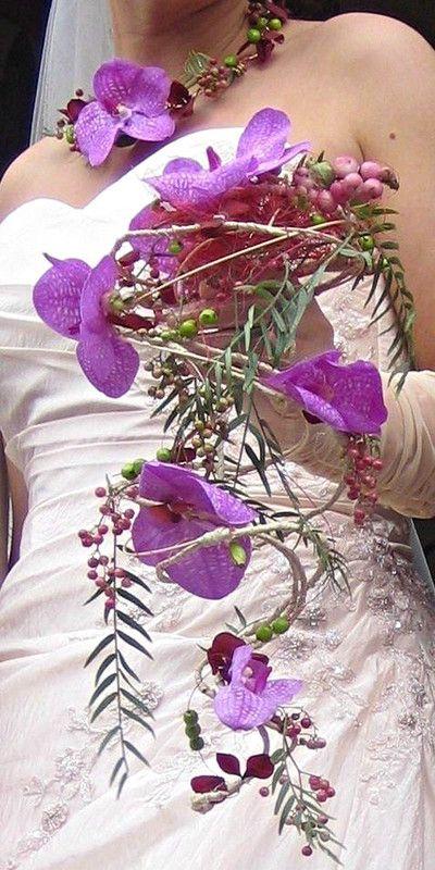 """Bouquet de mariée """"Vanda""""....."""