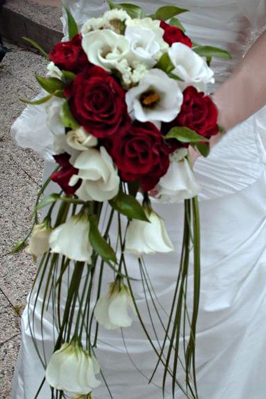 Bouquet de mariée tombant.....