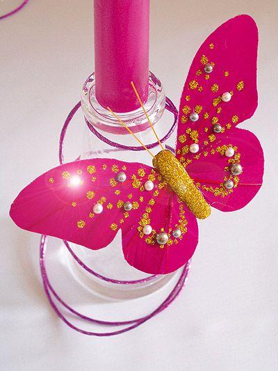 Deco De Table Papillon