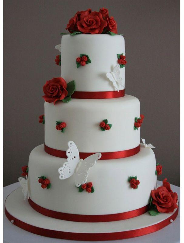 Gâteau de mariage champêtre.....