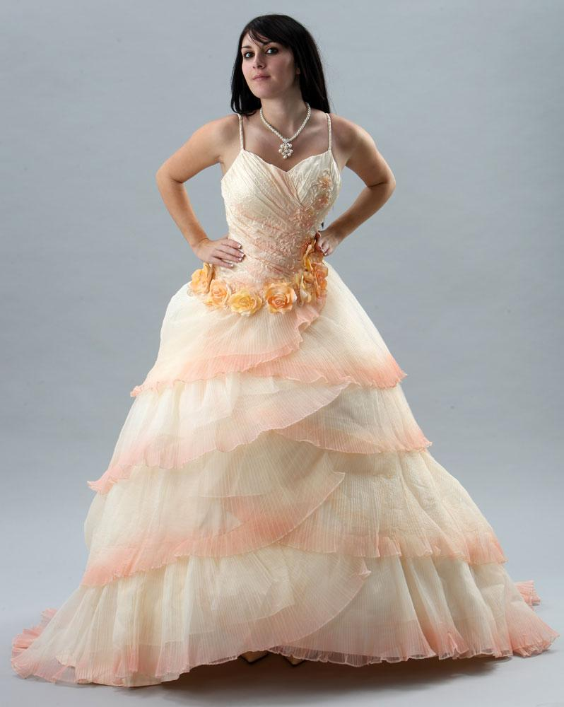 robe de mari e corail On robe de mariée couleur corail